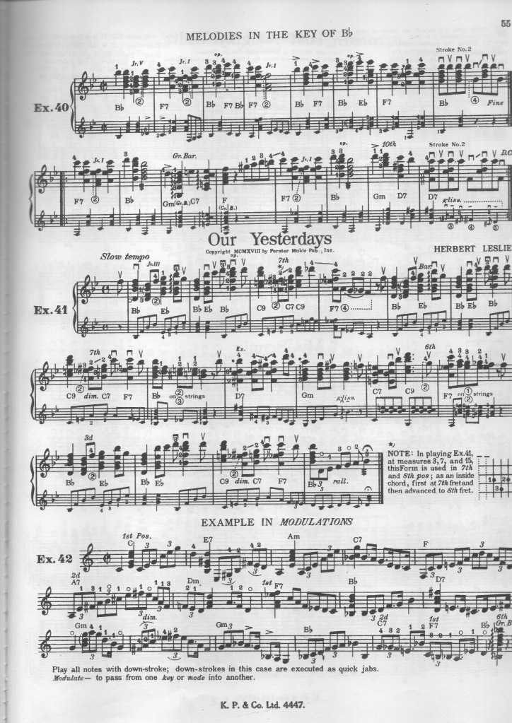 McNeil\'s Modern Guitar Method (1930) – ArchtopGuitar.net